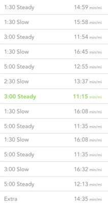 interval workout 2