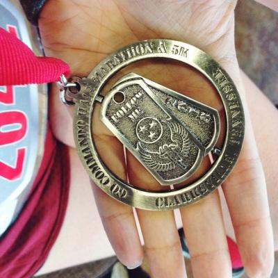 go commando 5k medal
