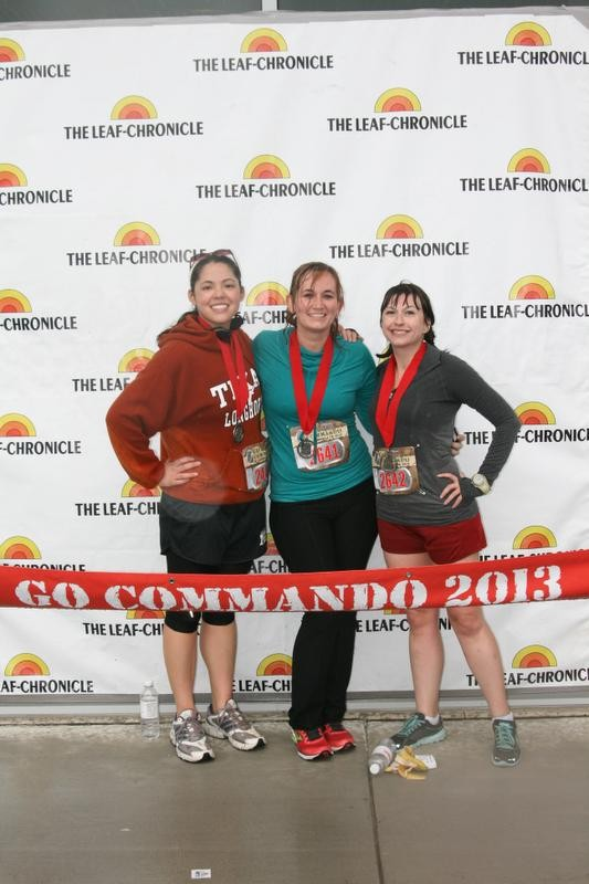 Go Commando 5k finishers