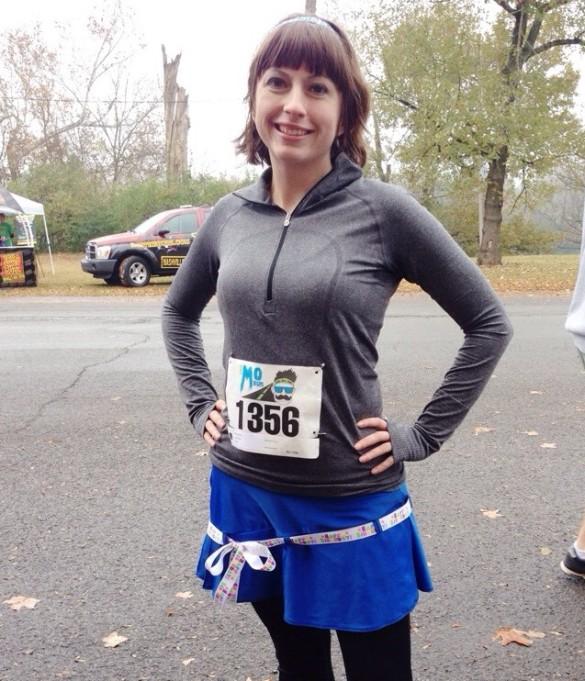 Sparkle Skirt at the Mo Run