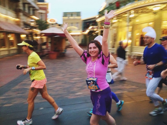 Walt Disney World Half Marathon Main Street USA