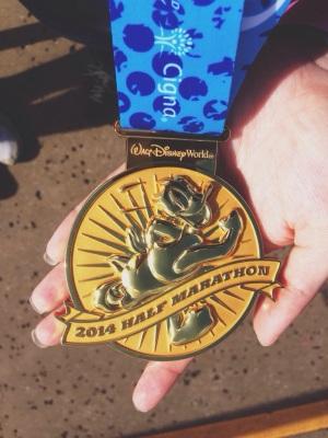 Walt Disney World Half Marathon medal