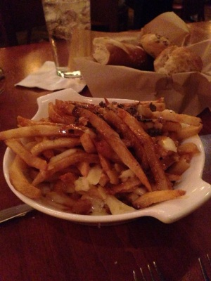 Poutine from Le Cellier in Canada at Epcot