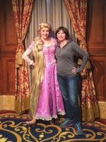 Rapunzel in Fantasyland at Magic Kingdom