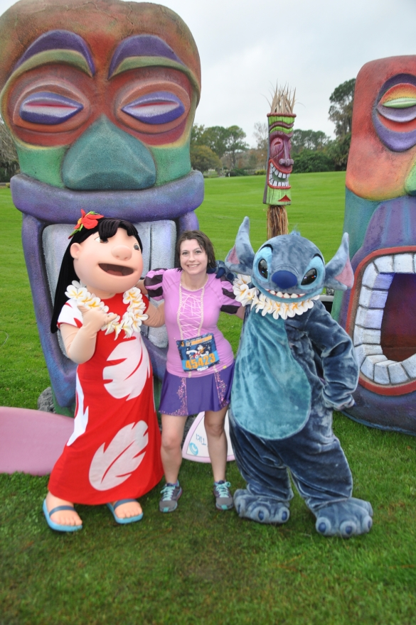 lilo and stitch at the half marathon