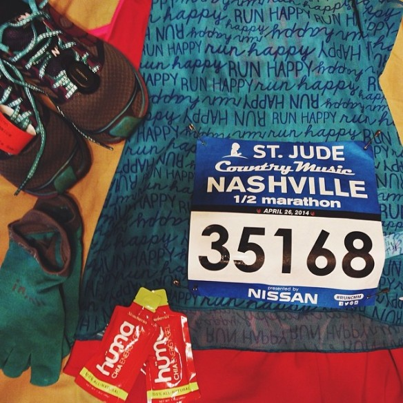 country music half marathon gear