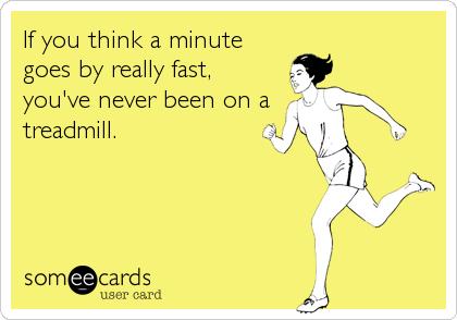 treadmill funny ecard