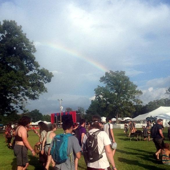 Bonnaroo rainbow