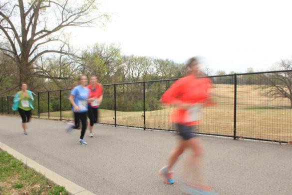 a running blur!