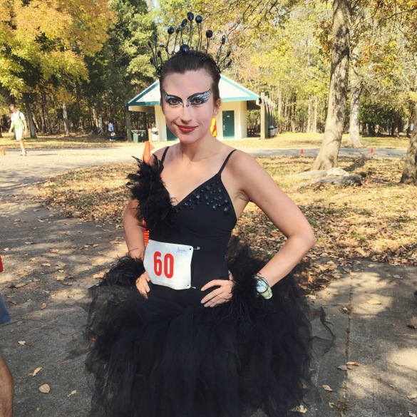Black Swan at Halloween Hunt