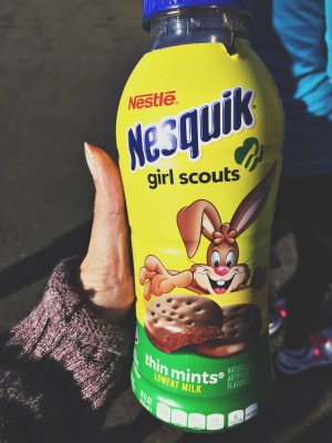 thin mint nesquik