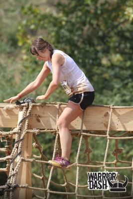 warrior dash goliath cargo climb