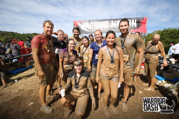 warrior dash finish photo