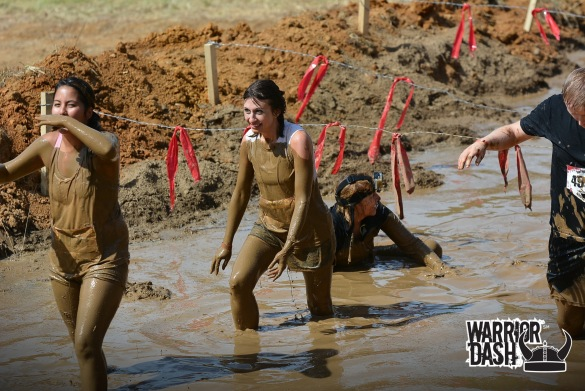 warrior dash muddy mayhem