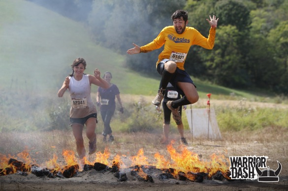 warrior dash warrior roast