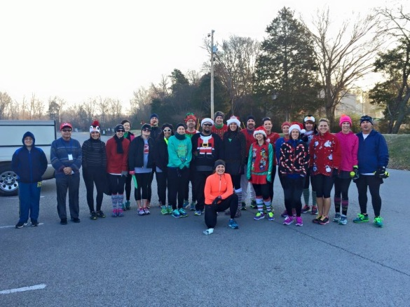 ugly sweater group run