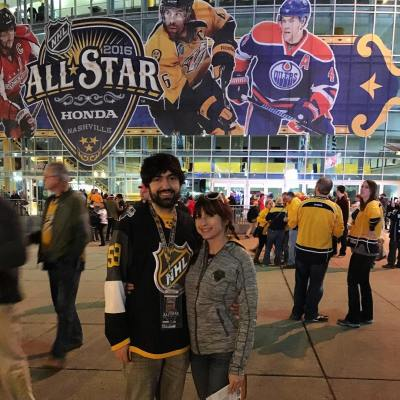 NHL All Star game in Nashville